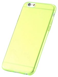 """Other Neon Green - IPhone 6 / 6s 4.7"""" TPU Rubber Gel Ultra Thin Case Cover Transparent Glossy 10 Colors Available"""