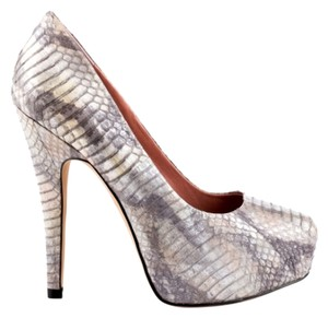 Vince Camuto Pump Stiletto Night Out Silver Mist Pumps