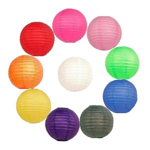 "Green - 10x 12"" Chinese Round Sky Paper Lanterns Lamp Wedding Birthday Party Decoration"