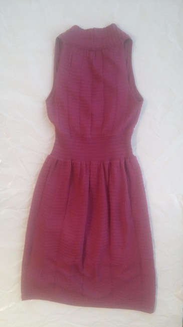 M Missoni short dress raspberry Pointelle Knit on Tradesy