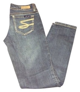 Seven Jeans Skinny Jeans-Distressed