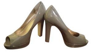 BCBGeneration Bcbg Peep Toe Taupe Pumps