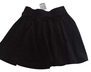 Urban Outfitters Office Night Out Plain Skirt Black