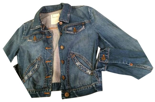 J.Crew Denim Bowery Wash Womens Jean Jacket
