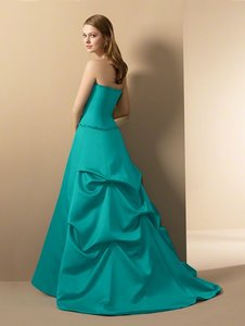 Alfred Angelo Blue Pastel Style No. 6554 Dress