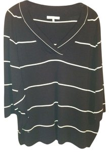 MAX MARA Batwing Striped Cotton Sweater