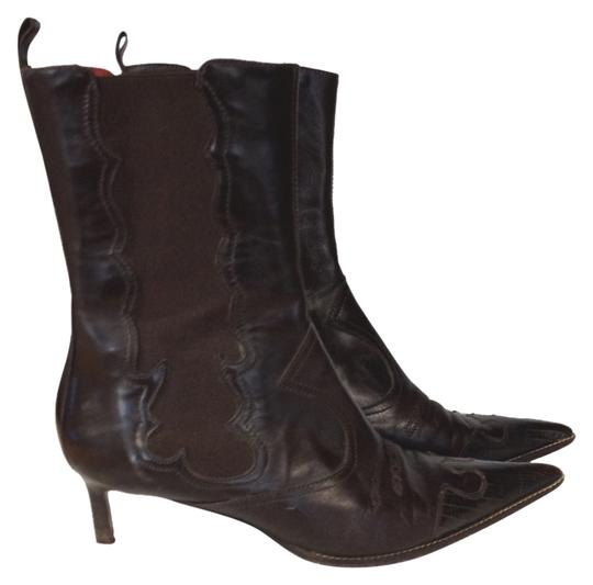 Boccacini Dark Brown Boots