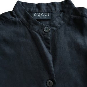 Gucci Button Down Shirt Black