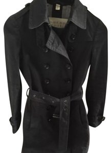 Burberry Brit Trench Black Trench Coat