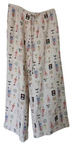 Tori Richard Retro Vintage Casual Women's Pattern Capris Off-white and assorted colors