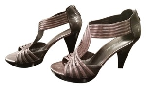 Franco Sarto Sexy Heels Metallic gray Pumps
