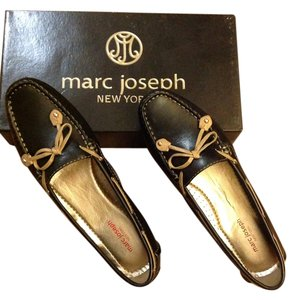 Marc Joseph New York Black Napa Flats