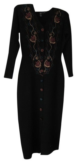 Preload https://img-static.tradesy.com/item/1170777/black-with-embroidery-mid-length-formal-dress-size-6-s-0-0-650-650.jpg