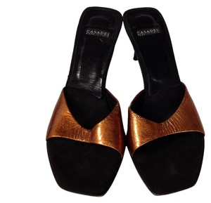 Casadei Black and copper Sandals