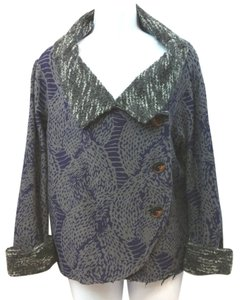 AIMEE G Boucle Knit PURPLE/RAUPE Jacket