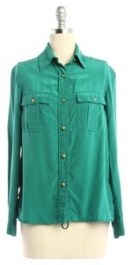 Marc by Marc Jacobs Button Down Shirt Green