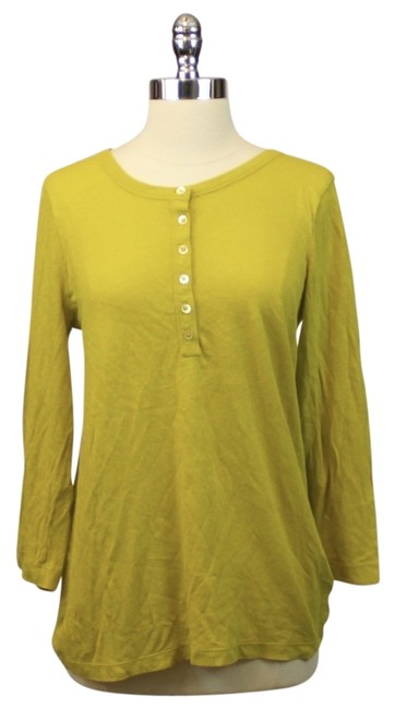 Preload https://item5.tradesy.com/images/jcrew-chartreuse-green-tee-shirt-size-8-m-11708794-0-1.jpg?width=400&height=650