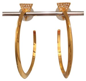 Vince Camuto Linear Equation Triangle Crystal Hoop