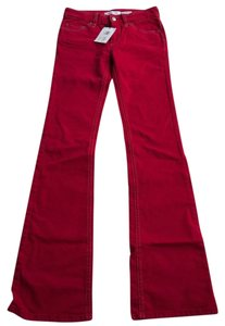 Isabel Marant Jeans Flare Flare Pants Red