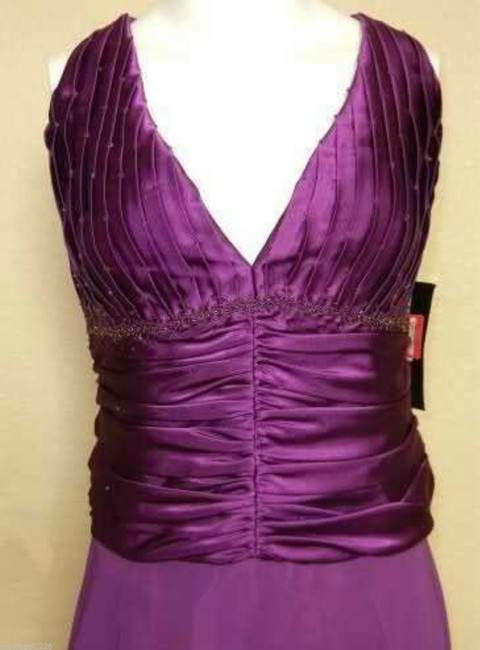 JS Boutique Vintage Satin New With Tags Dress Image 4