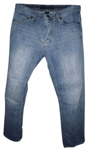 Calvin Klein Straight Leg Jeans-Distressed
