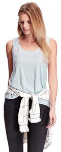 Old Navy Relaxed Cotton New Top Light Blue