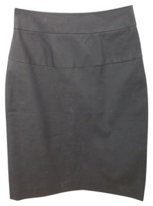 Theory Pencil Stretchy Skirt BLACK