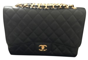 Chanel Cavier Like New Classic Shoulder Bag