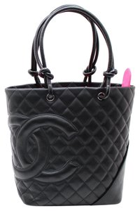 Chanel Tote in Combon Black