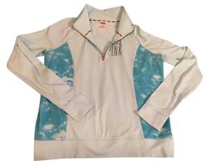 PINK Victoria's Secret PINK Light blue Half-zip Athletic Jacket