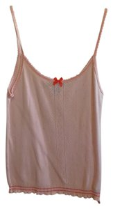 Marc Jacobs And Cami Top Pink with Orange Trim