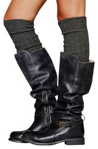 Bed|Stü Black Rustic Boots