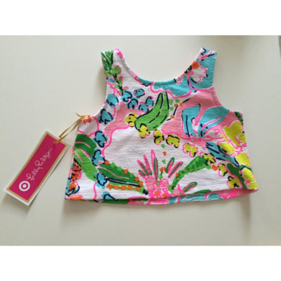 cb158717608f Lilly Pulitzer for Target Girls  Nosie Posey Print Tank Top Cami Size 0  (XS) - Tradesy
