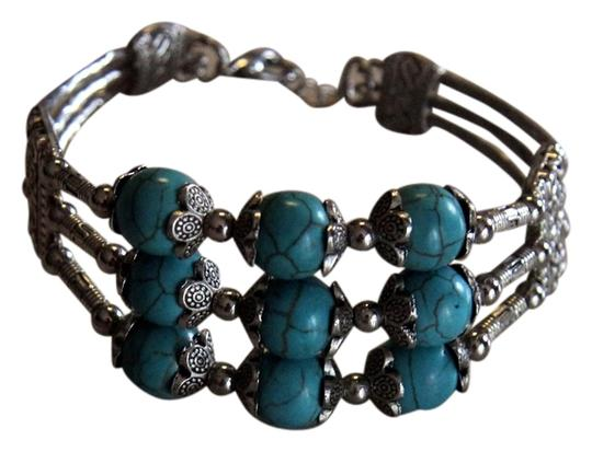 Other Stainless Turquoise Cuff/Bracelet
