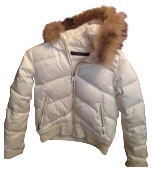 Andrew Marc Puffy Hooded Down Coat