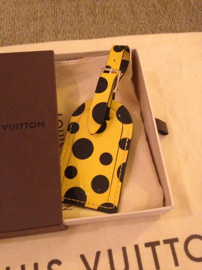 Louis Vuitton Louis Vuitton LE Kusama Luggage Tag