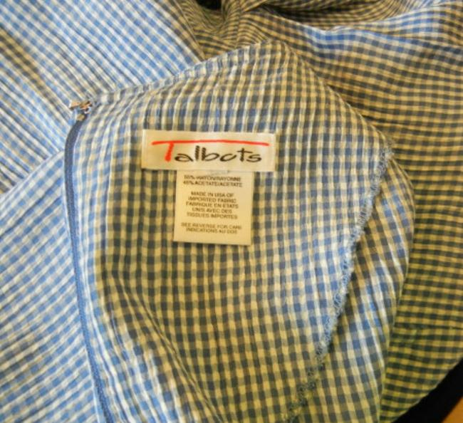 Talbots Size 18 Vintage Gingham Dress