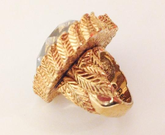 """Betsey Johnson Betsey Johnson Original Crystal Heart Ring """"fly With Me"""""""