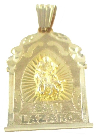 Other 14KT SOLID YELLOW GOLD SAN LAZARO