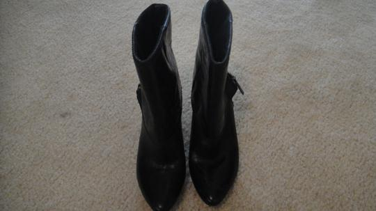 Nine West High Heel Platform Black Boots