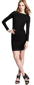 Diane von Furstenberg Dvf Ruched Sleeve Knit Dress