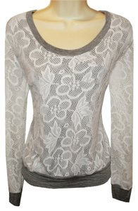 Macy's Lacey Lacy Lace Crochet Sweater