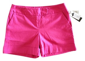 INC International Concepts Cuffed Shorts Hot Pink