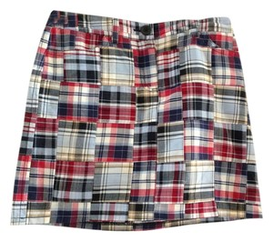 Ann Taylor LOFT Mini Skirt Plaid