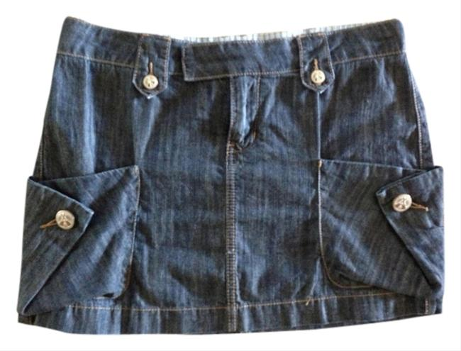 BCBGeneration Mini Skirt Denim