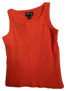 Style & Co Top Orange