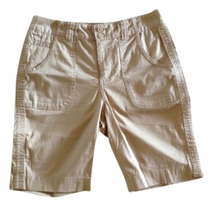 St. John's Bay Bermuda Shorts Tan