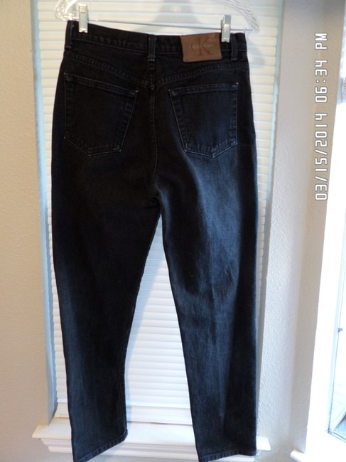 Calvin Klein Straight Pants Blue Jean