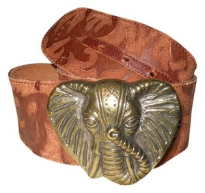 Lucky Penny Lucky Penny wide leather belt