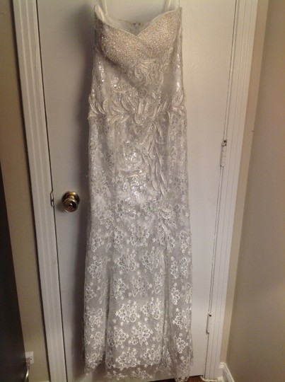 Preload https://img-static.tradesy.com/item/1171805/aspeed-designs-white-lace-and-sequins-vintage-wedding-dress-size-4-s-0-0-540-540.jpg